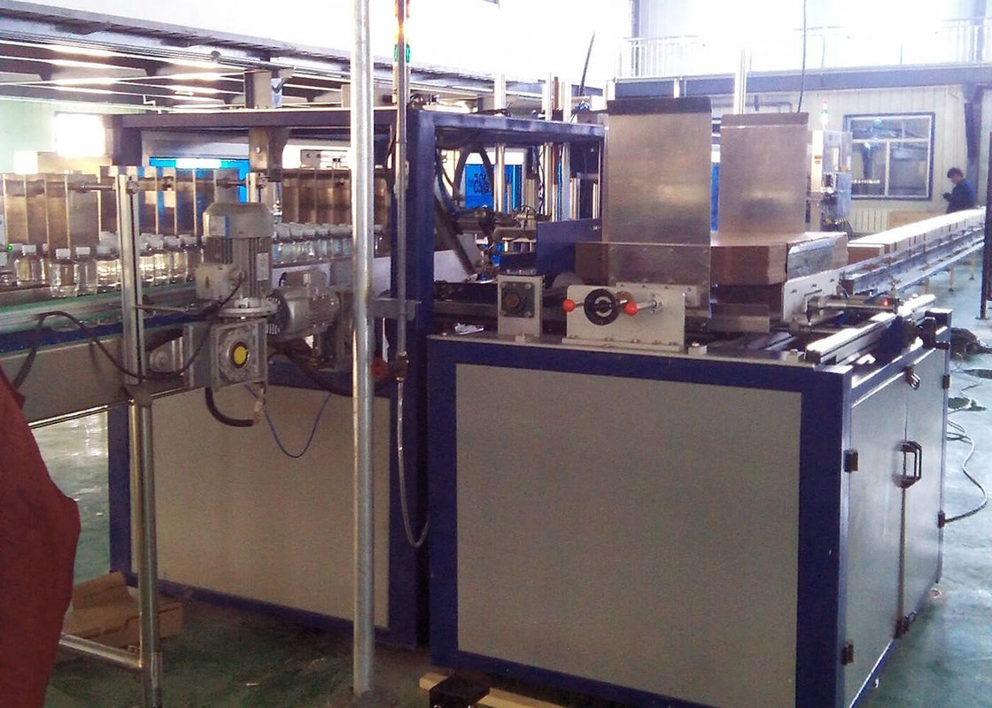 Full Auto Carton Packer And Case Sealer Machine / Carton Box Packing Machine
