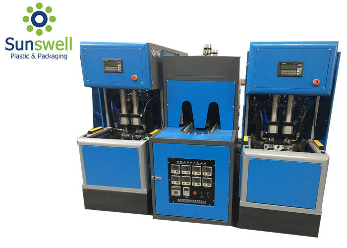 Advanced Stretch 4 Cavity Pet Blowing Machine For Plastic Bottle Making
