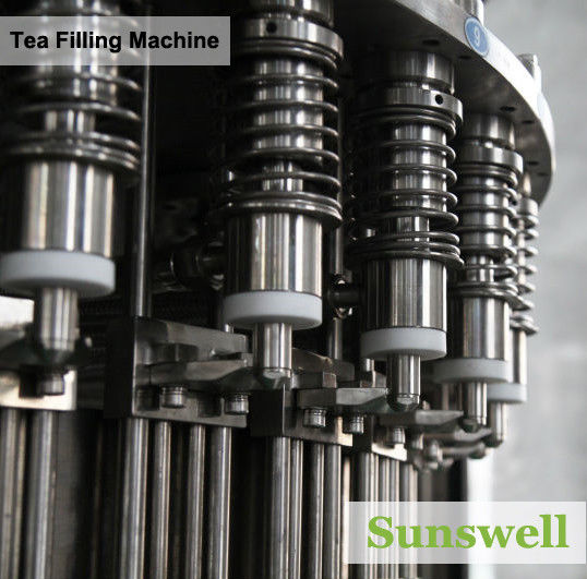 PET Bottle Tea Filling Machine , Automatic Black Tea Filling Equipment