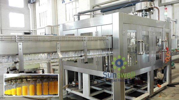 Bottled Liquid Syrup Filling Machine Processing Line For Drinking